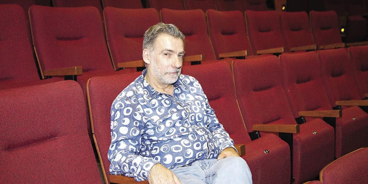 Jacques LEBLANC, directeur artistique du Théâtre de la Bordée. Photo Mathieu JADAUD