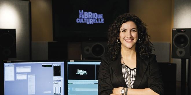 Marie-Claude PARADIS, nouvelle coordonnatrice du bureau de Télé-Québec à Québec. Photo Jean-François GRAVEL