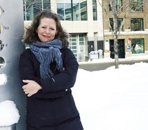 Marie-Ève Sévigny, écrivaine et directrice de la Promenade des écrivains. Photo Abella Photos