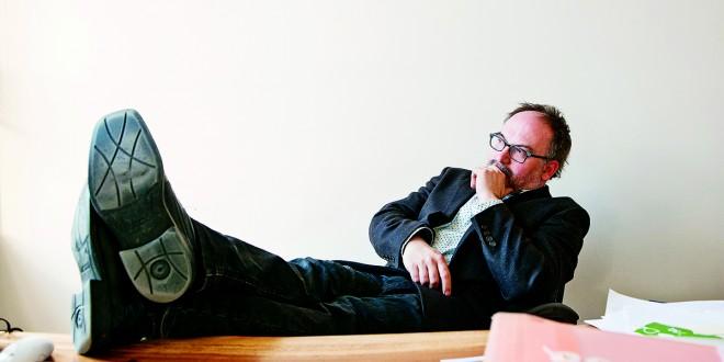 Antoine Tanguay, fondateur et directeur de la maison d'édition Alto. Photo Jean-François GRAVEL