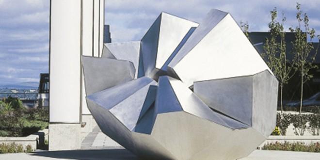 Sculptures d'aluminium de Jean-Pierre Morin. «Convergence» © Photo: Jean-Pierre Morin.