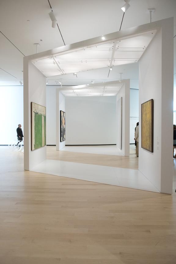 Le pavillon Pierre Lassonde présente des salles consacrées à l'art contemporain et actuel. 22 juin 2016. Crédit photo : Jean-François Gravel.