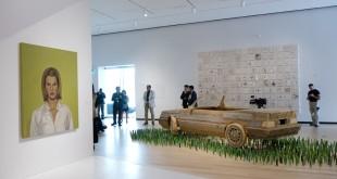 De Ferron à BGL. Art contemporain du Québec est l'une des nouvelles expositions d'art contemporain du Québec. 22 juin 2016. Crédit photo : Jean-François Gravel.