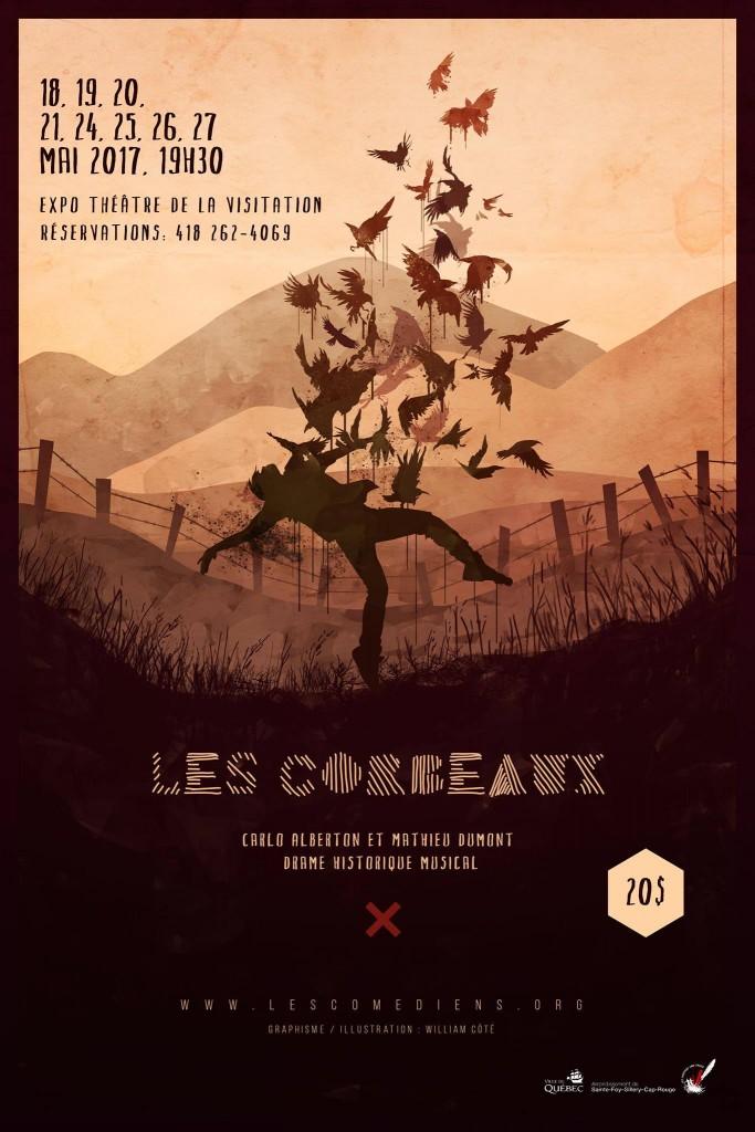 BIZ_070_Affiche Les corbeaux