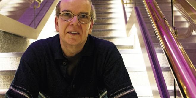 André Marceau, directeur général et artistique de SLAM Cap et du Tremplin d'actualisation de poésie. Photo Abella Photos