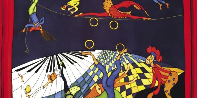 La Scène Paule Bossé Encre sur soie 86 × 71 cm 2006 Tableau hommage inspiré de La Scène composée par Claude Léveillée